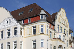Art nouveau townhouse. In Kiel, Germany Royalty Free Stock Images