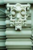 Art Nouveau un alivio deckorative de la cara de Jugenstil Imagenes de archivo