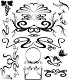 Art Nouveau vector Stock Photos