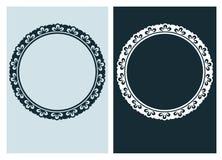 Art nouveau vector frame vector pair line isolated. Art nouveau vector frame vector pair line vector illustration