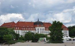 Art Noveau style hotel, Sopot, Poland Stock Image