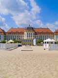 Art Noveau style mansion, Sopot, Poland. Art Noveau style mansion, Sopot, Tricity, Poland Royalty Free Stock Photo