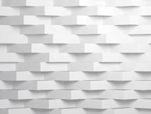 Art numérique blanc abstrait du fond 3d illustration de vecteur