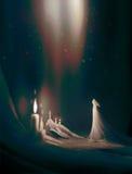 Art numérique d'illustration de concept de mystère Images libres de droits
