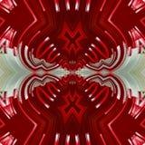 Art numérique de fond rouge abstrait illustration stock