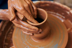 Art Of Pottery Stock Photography