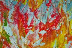Art oil painting - background. Abstraction fire. Art oil painting - background. Texture. Abstraction fire. Handwork royalty free stock photography