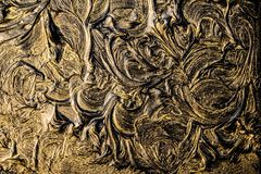 Art oil painting. Black gold painting. Abstraction. Background. Texture. Art oil painting. Black gold painting. Abstraction. Beautiful texture royalty free stock photography