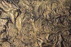 Art oil painting. Black gold painting. Abstraction. Background. Texture. Art oil painting. Black gold painting. Abstraction. Beautiful texture stock photography