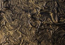Art oil painting. Black gold painting. Abstraction. Background. Texture. Art oil painting. Black gold painting. Abstraction. Beautiful texture stock photos