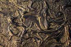 Art oil painting. Black gold painting. Abstraction. Background. Texture. Art oil painting. Black gold painting. Abstraction. Beautiful texture royalty free stock photos