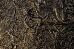 Art oil painting. Black gold painting. Abstraction. Background. Texture. Art oil painting. Black gold painting. Abstraction. Beautiful texture royalty free stock image