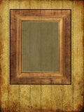 Art old frame on pattern paper. Art frame on pattern paper Royalty Free Stock Photos