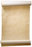 Art old scroll stock image