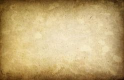 Art Old Yellowed Paper Background. Texture Grunge stock illustration