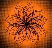 Art ornate flower design Stock Image
