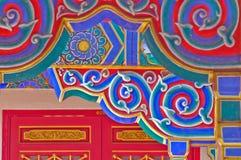 The art over door, Thailand. The art over door in temple, Thailand Stock Photos