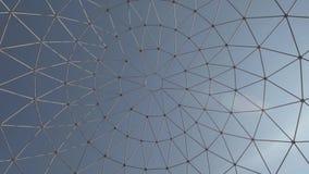 Art Over Sky grating de aço vídeos de arquivo