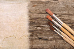 Art paint brush Royalty Free Stock Photo