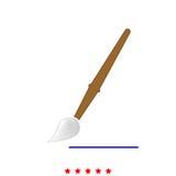 Art paint brush it is icon . Stock Photo