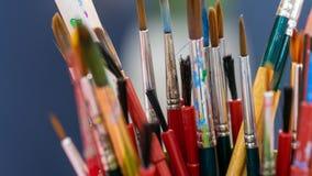 Art Paint Brush Tool Set imagenes de archivo