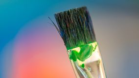 Art Paint Brush Tool Set royaltyfri foto