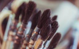 Art Paint Brush Tool Set foto de archivo
