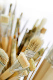Art paint brushes Royalty Free Stock Image