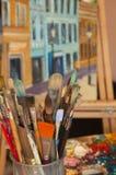 Art Paint Brushes Foto de archivo
