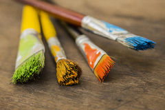 Art paint brushes Royalty Free Stock Photography