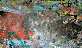 Art Paint Marks Texture Royaltyfri Bild