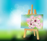 Art Painting Stock de ilustración