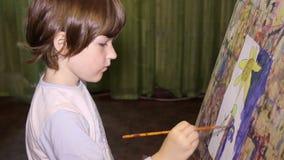Art Painting stock videobeelden