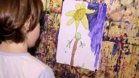 Art Painting stock video