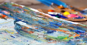 Art painting Stock Images