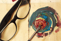 Art of Painting Stock Photography
