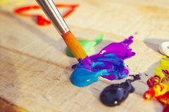 Art of Painting Stock Photo