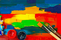 Art paints Royalty Free Stock Images