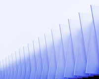 Art palace. Abstract shot of a modern building Royalty Free Stock Image