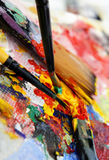 Art palette Stock Photos
