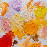 Art palette Stock Images