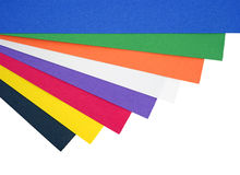 Art paper Stock Image