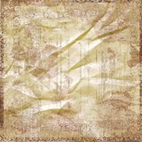 Art Paper Scrapbook Background. A multi-layered, rich textured background Royalty Free Stock Image