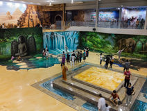 Art Paradise Museum in Pattaya,Thailand Royalty Free Stock Images