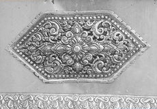 The art and pattern of carving silverware. The art and pattern of carving silverware Royalty Free Stock Photography