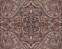 The art and pattern of carving. Silverware stock photography