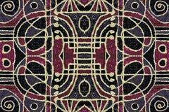 Art Pattern geométrico tribal Imagenes de archivo