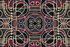 Art Pattern geométrico tribal Fotografía de archivo