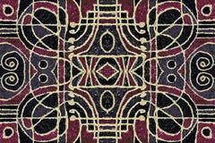 Art Pattern geométrico tribal Imagen de archivo