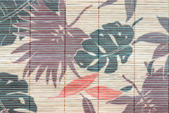 The art of pattern leaves to many color. Royalty Free Stock Photo
